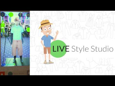 LIVE Style Studio: The Personalized Virtual Fitting Room