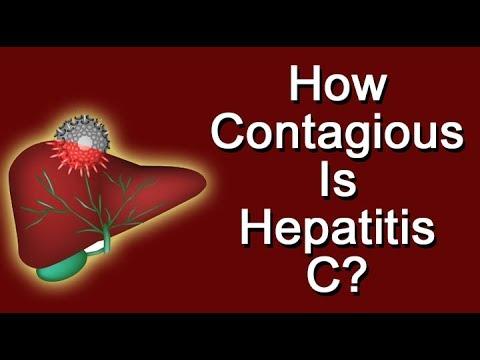 is hepatitis c contagious