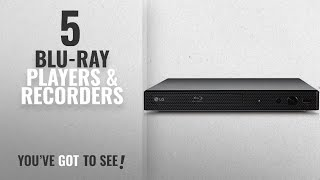 Top 10 Blu-Ray Players & Recorders [2018]: LG BP250 Blu-Ray and DVD Disc Player with Full HD