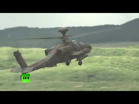 Japan holds live-fire drills day after N. Korean missile test