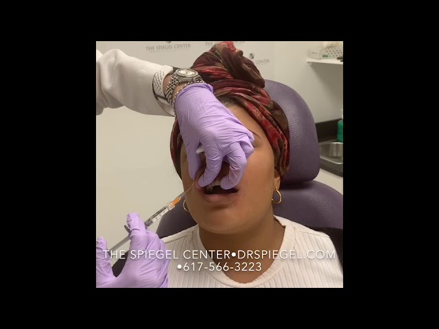 Dr. Onir Injects Filler In The Lips