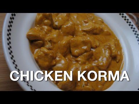 EASY CHICKEN KORMA - Student Recipe