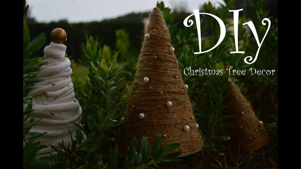How to Shabby Chic Christmas Decorations DIY  YouTube