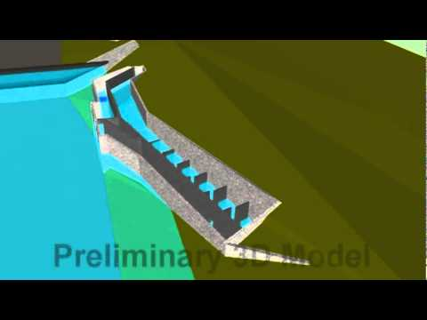 Alameda County Water District Preliminary 3d Fish Ladder Model