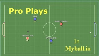 Pro Play 2v2 in Myball.io