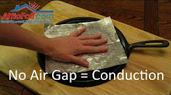 Radiant Barrier Foil Insulation - Why Is Air Gap or Space Required?