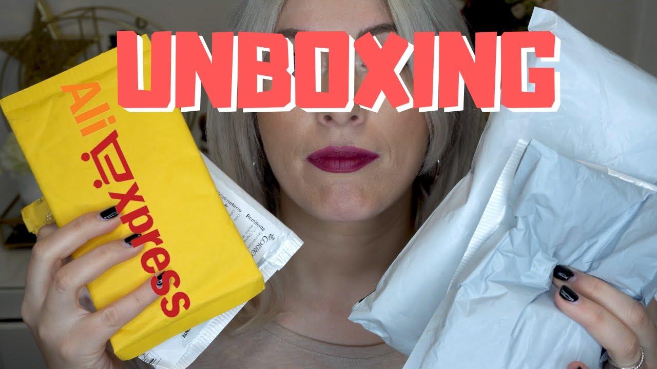 Unboxing paquetes Aliexpress y otros