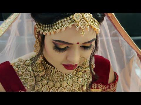 INDIAN BRIDAL MAKEOVER ( HD Makeup ) |  BRIDAL MAKEUP TUTORIAL | By Makeup Artist Amit Mehrani