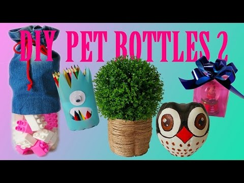 10 DIY Creative Ways to Reuse / Recycle Plastic Bottles ...
