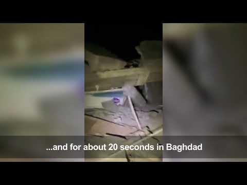 Deadly quake rocks Iraq-Iran border