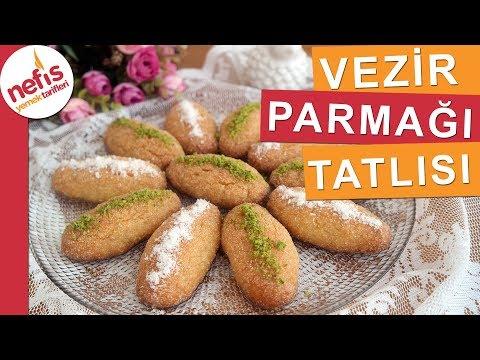 Vezir Parmağı Tatlısı Tarifi - En pratik şerbetli tatlılardan deneyenler çok beğeniyor