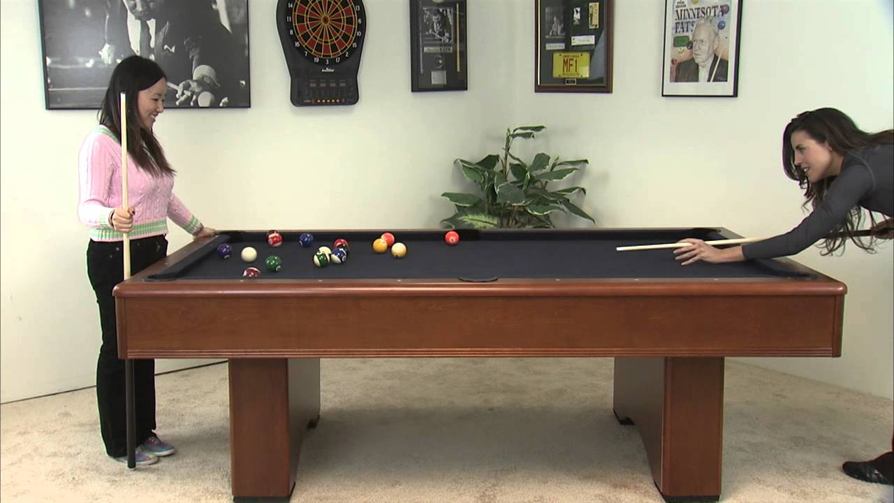 Minnesota Fats Billiards Table MFT MFT WESTMONT YouTube - Fats pool table