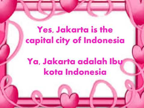 Learn Simple English and Indonesian Sentences