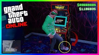 What Happens If You Kick The Arcade Machines In GTA 5 Online? (SECRET Outcome)
