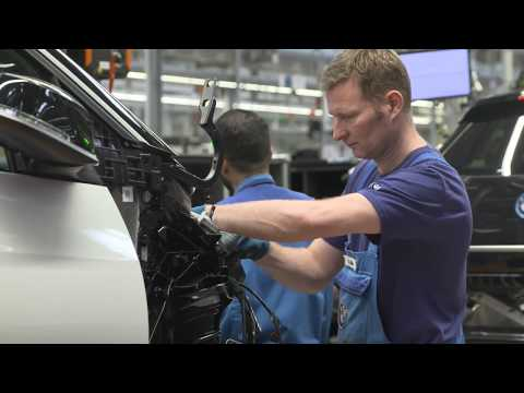 Final assembly BMW i3 and BMWi3s at BMW Group Plant Leipzig