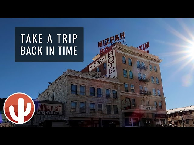 Mizpah Hotel, Clown Motel & Old Tonopah Cemetery   Tonopah, Nevada