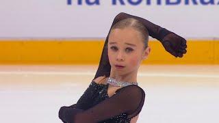 Вероника Жилина Короткая программа Девушки Кубок России по фигурному катанию 2020 21 Пятый этап