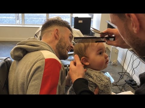Baby Parkers First Haircut!!! [He Is A Good Boy!!]