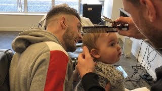 Baby Parker's First Haircut!!! [He Is A Good Boy!!]