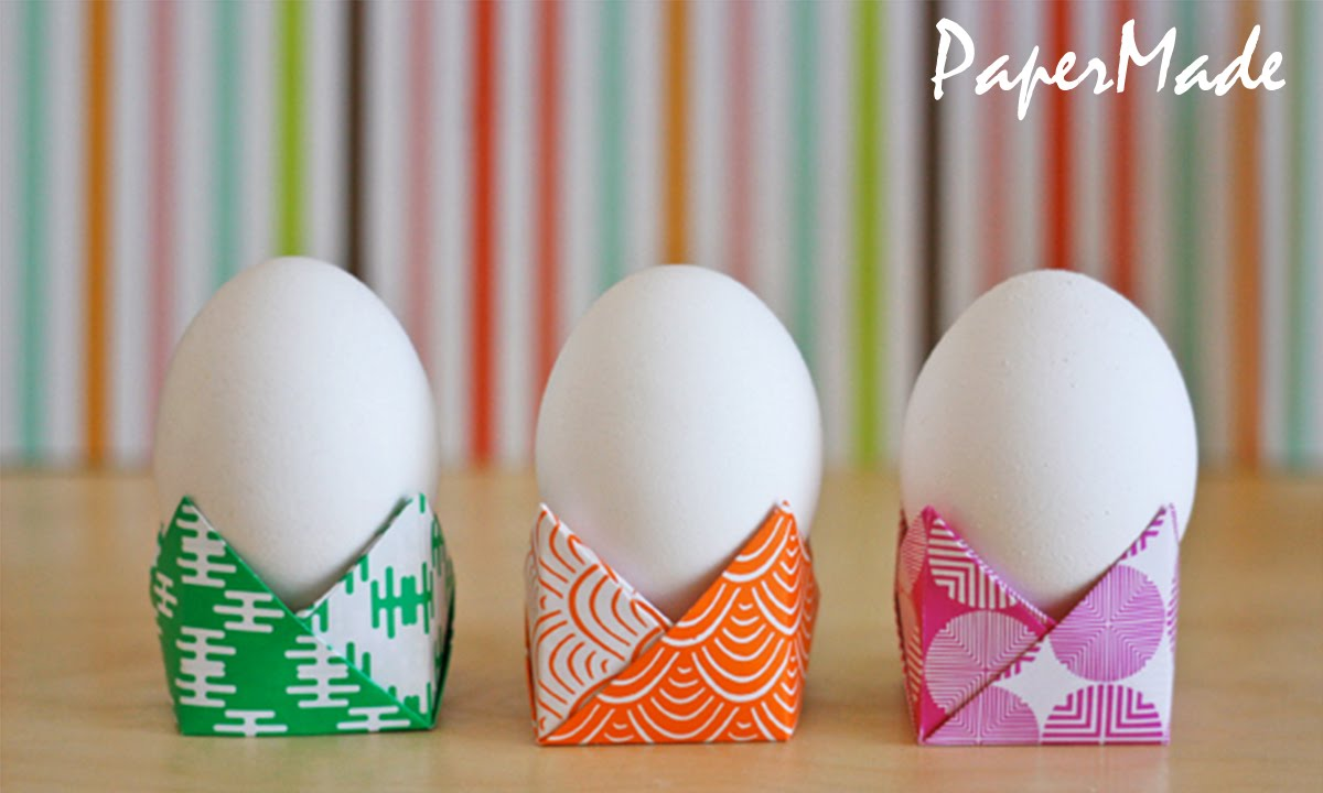 Papercraft How to make a Egg Holder With Paper | PaperMade