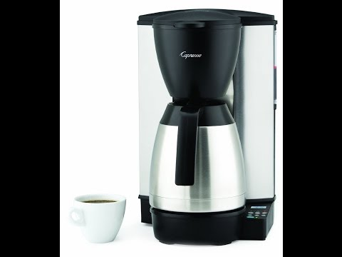 Capresso 10 Cup Coffee Maker Review