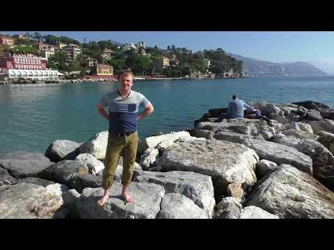 Не надо стесняться, наслаждайтесь жизнью! Видео с Лигурийского побережья