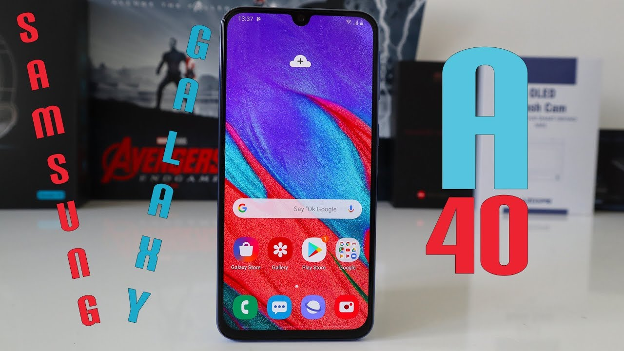 Samsung Galaxy A40 - A Banging Budget Smartphone