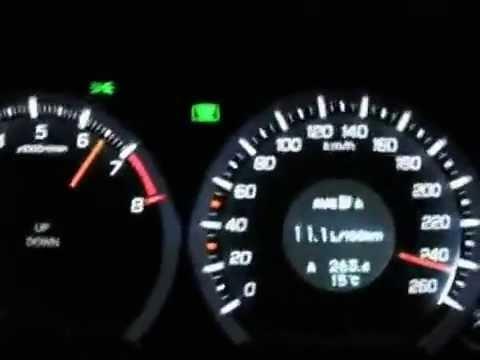 Honda Accord Top Speed Youtube