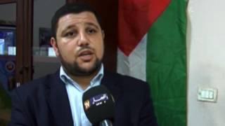 مقابلة على قناة النهار الجزائرية لتقديم واجب العزاء من فلسطين