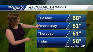Flood concerns continue, temperatures on the rise