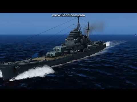 Sinking of heavy cruiser maya