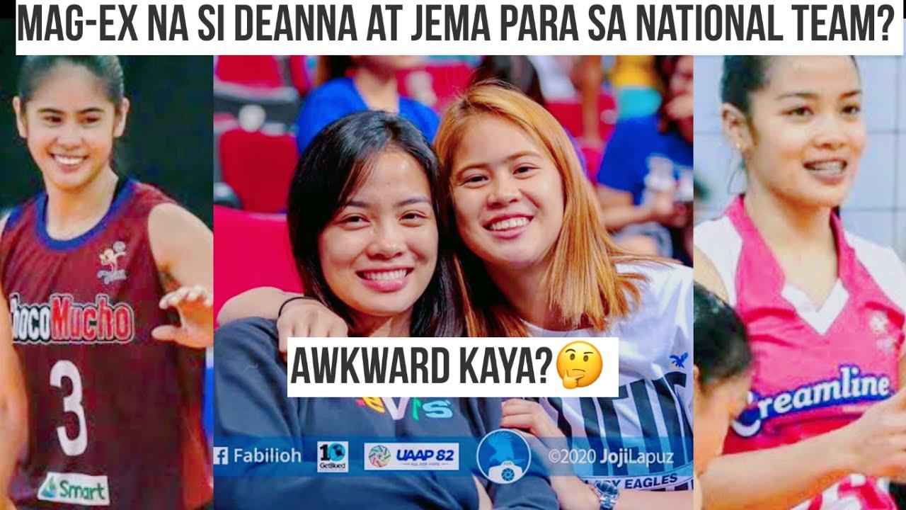 NT Update: Mag-ex na si Deanna Wong at Jema Galanza pasok sa National Team?