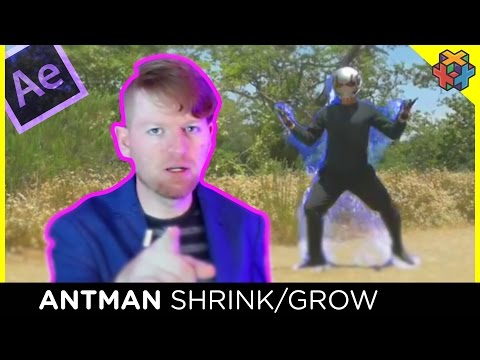 Antman Growing/Shrinking effect  - After Effects Tutorial
