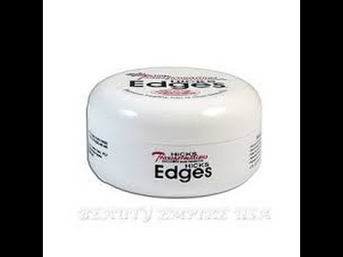 Hicks Edge Control On Natural Hair