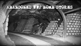DERELICT WW2 RAF AMMUNITION STORES -  (URBAN EXPLORING)