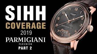 SIHH 2019: Parmigiani Kalpagraphe Chronograph, Tonda 1950, and Toric Chronometre!