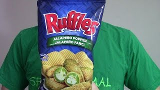 Ruffles Canada Jalapeño Popper Potato Chips | Spicochist Reviews