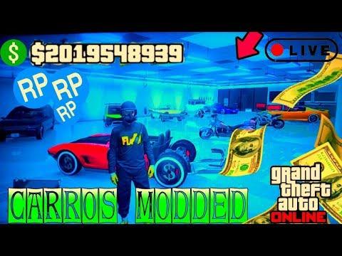 ENCONTRO DE CARROS MODDER PS3 RP+MONEY+ROLADINHA COMANDO GSMZ