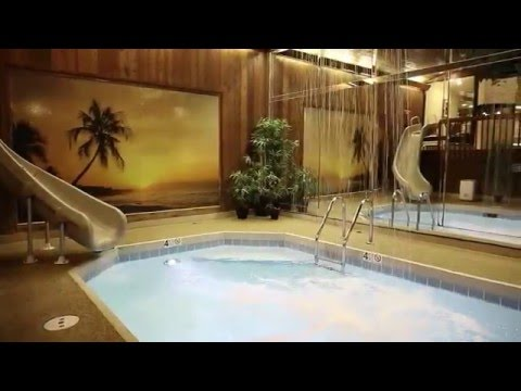 Who has been to the Sybaris resort? Dusty and I stayed in the Chalet Swimming Pool Suite for our late
