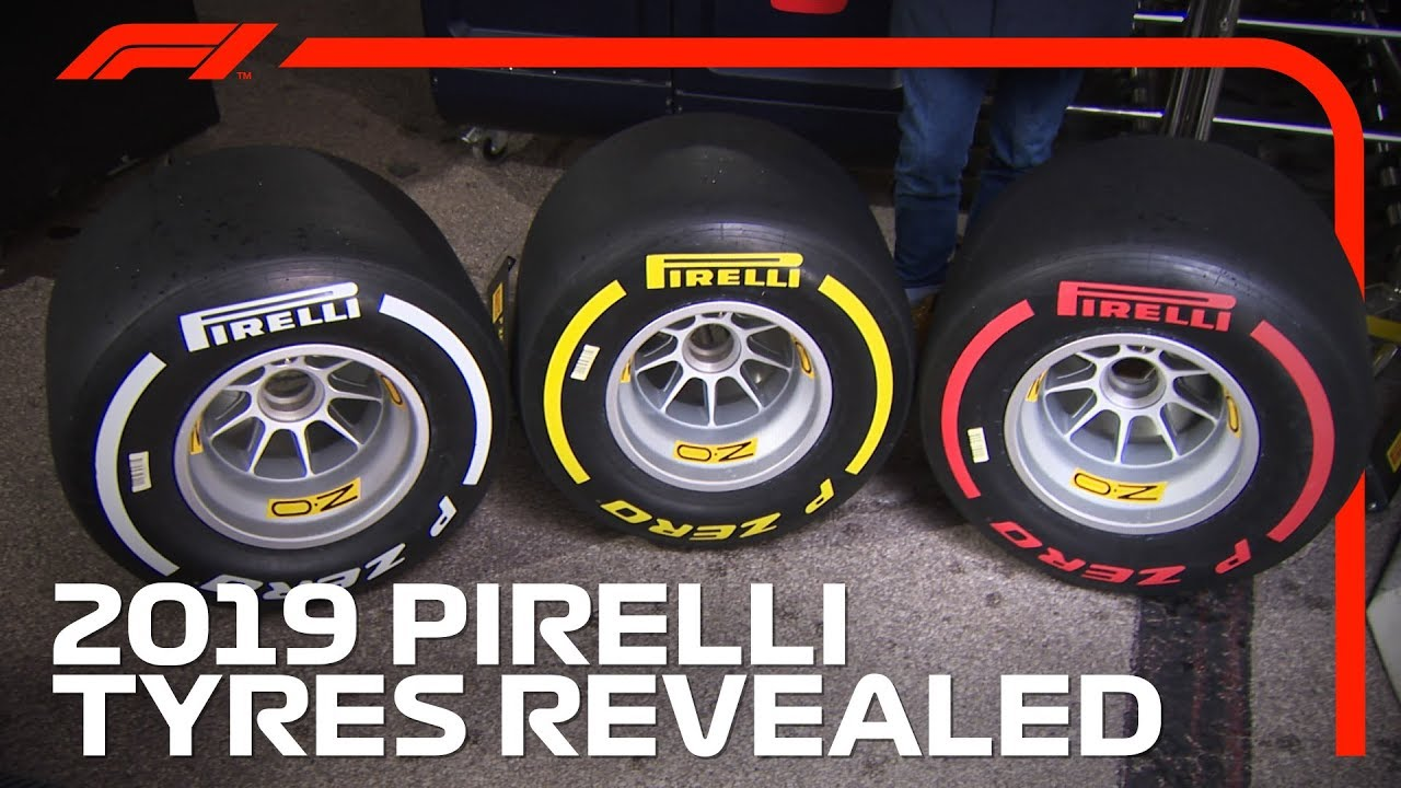 2019 Pirelli F1 Tyres Revealed Youtube