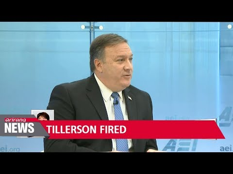 Trump fires Tillerson... bringing disarray to Washington and Seoul over North Korea