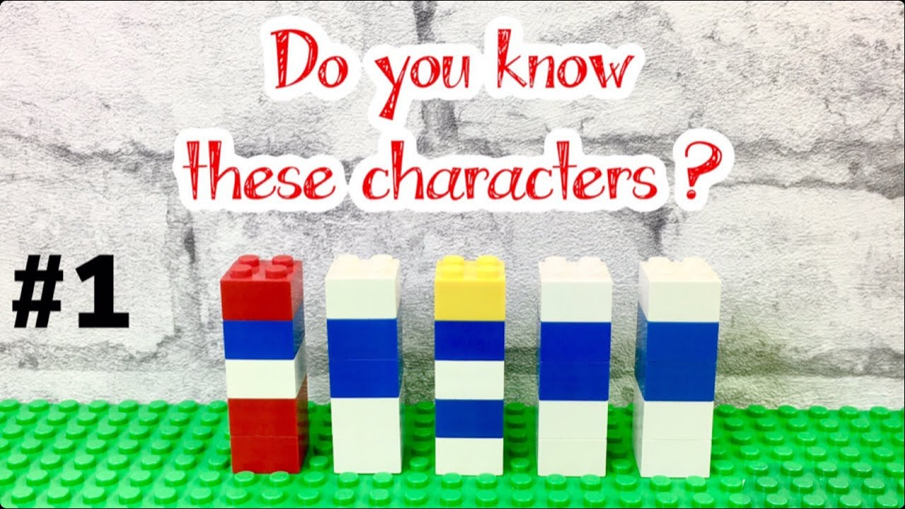 #1 funny Lego characters