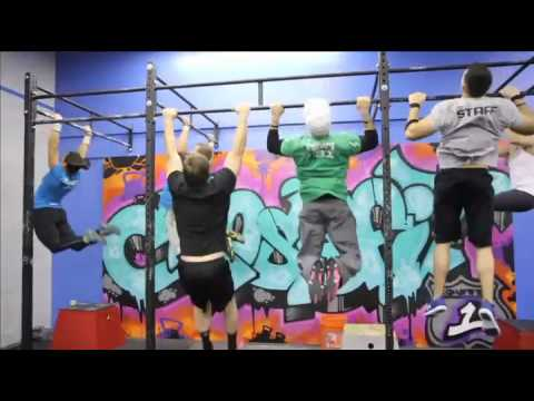 "CrossFit - WOD 120108 Demo ""Pull-Up Ladder"""
