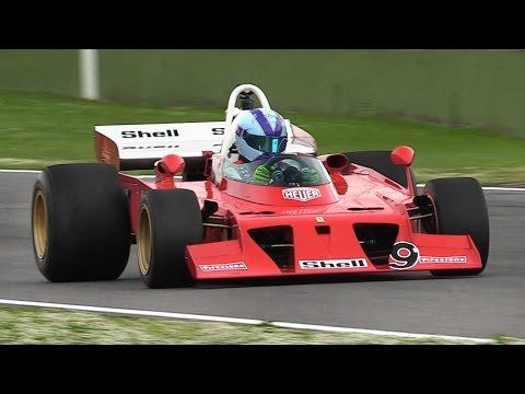 "1972 Ferrari 312 B3 ""Spazzaneve"" F1 Car Driven on Track + On Board!!"