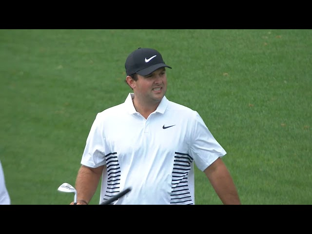 Patrick Reed's Second Round in Under Three Minutes