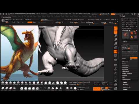 Charizard Step by Step for Sketchfab