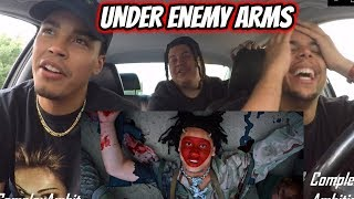 Trippie Redd Under Enemy Arms VIDEO REACTION REVIEW