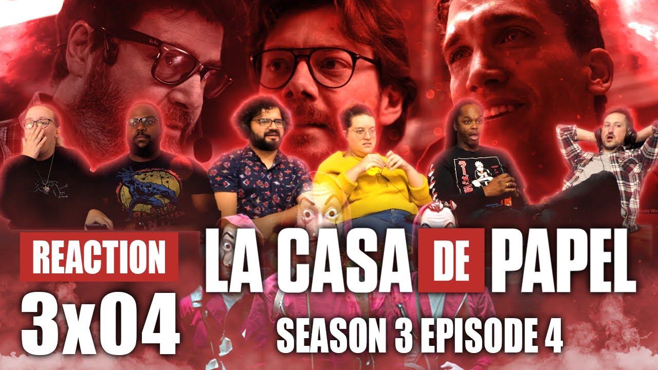 Download La Casa De Papel (Money Heist) - Season 3 Episode 4 - Group Reaction