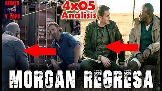 Morgan VOLVERÁ a The Walking Dead | FEAR The Walking Dead 4x05