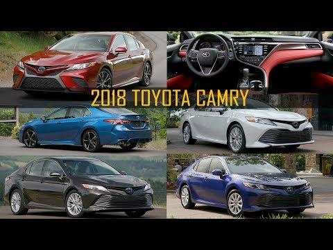 2018 Toyota Camry Range - LE, XLE, SE Hybrid, XSE, XLE Hybrid (US Spec)